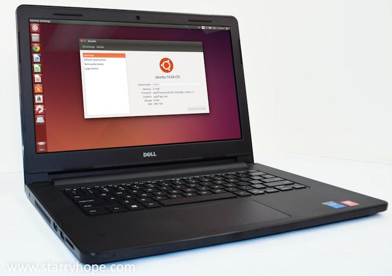Dell Inspiron 14 Ubuntu Edition