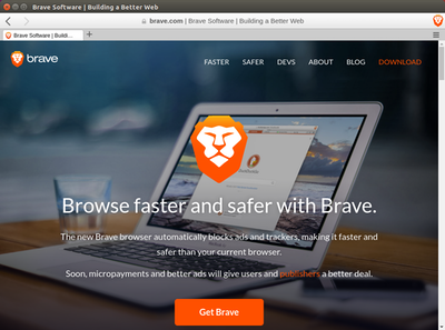 Brave Browser on Ubuntu 16.04
